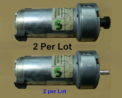 12 Volt Dc Gear Reduction Motor 80 Rpm Merkle-korff