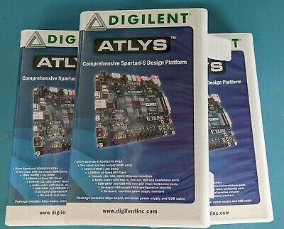 Digilent Atlys Fpga Trainer Board Xilinx Spartan-6 Used