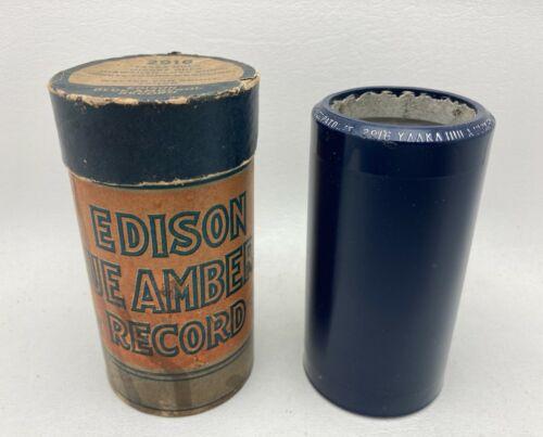 """Edison Blue Amberol #2916 """"Yaaka Hula Hickey Dula""""  W. Van Brunt PLAYS GREAT!"""