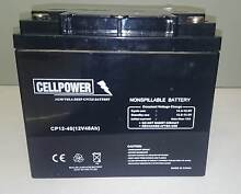 12V40AH AGM DEEP CYCLE BATTERY - MOBILITY SCOOTER - GOLF BUGGY Shailer Park Logan Area Preview