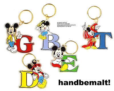 DISNEY Schlüsselanhänger Buchstaben Mickey Mouse Neuware von BRABO aus den 90ern (Disney Mickey Schlüsselanhänger)