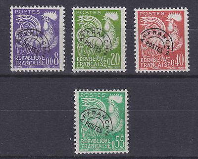 France Sc 952-955 MNH. 1960 Gallic Cock cplt VF