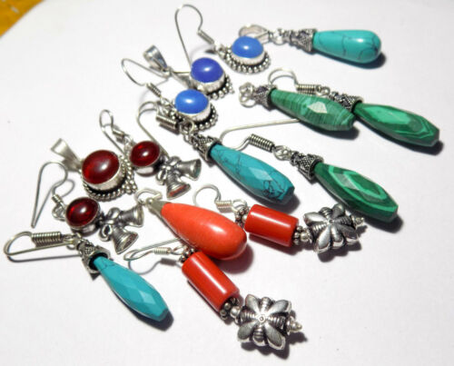 5 Jewelry Sets Pendant Earring Mixed Lot 925 Sterling Silver Overlay