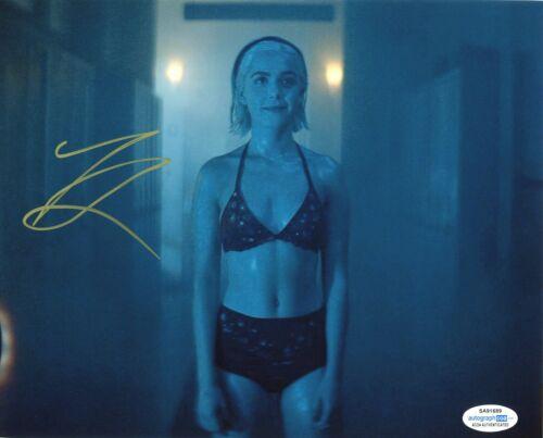 Kiernan Shipka CAOS Sexy Autographed Signed 8x10 Photo ACOA