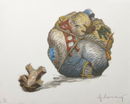 """Claes Oldenburg """"houseball With Fallen Toy Bear"""" 1997 