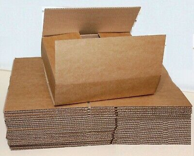 25 Boxes 15 x 8 x 6 inches Single Wall Parcel Sizes Cardboard Boxes