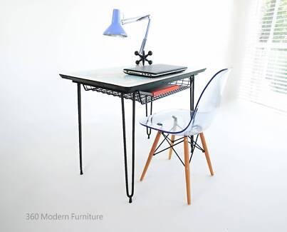 Retro desk desks gumtree australia free local classifieds mid century desk table world map study office vintage retro gumiabroncs Choice Image