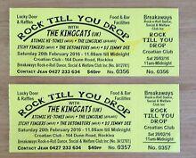 ROCKABILLY - Rock Till You Drop Georgetown Newcastle Area Preview
