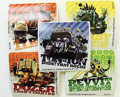 15  Dreamworks Dinotrux Stickers Party Favors Dino Dinosaur Ty Revvit Garby - Party Ty