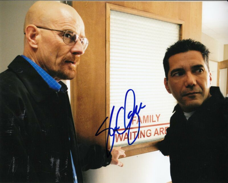 STEVEN MICHAEL QUEZADA signed *BREAKING BAD* 8X10 TV SHOW photo W/COA STEVEN #2