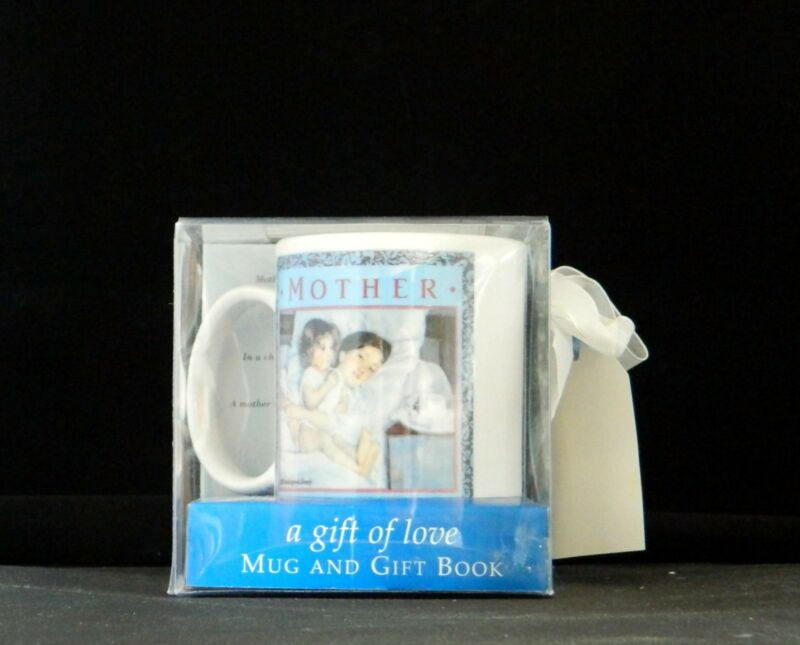 Mother's Day Mug Cup & Gift Book Markings by C. R. Gibson! NEW in Gift Box