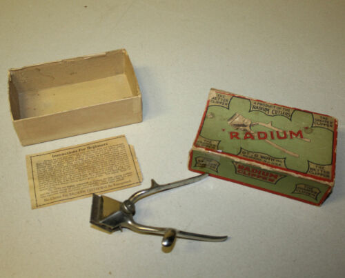 Antique Radium Hair Clipper in the Original Box – Barber Shop