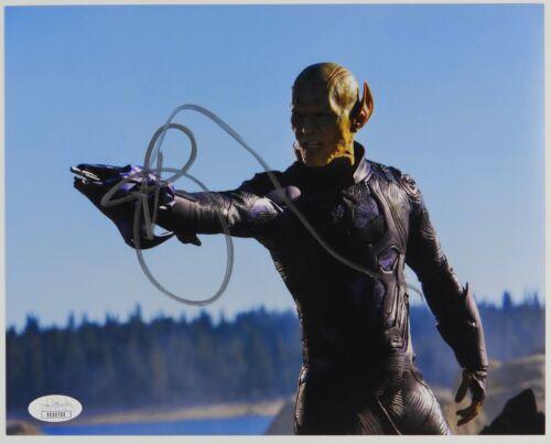 Ben Mendelsohn Captain Marvel Signed Autograph JSA COA 8 x 10