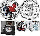 Piece de monnaie de 20$ Canada 2013 Superman Man of Steel