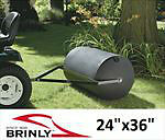 NEW BRINLY TOW BEHIND POLY LAWN ROLLER $195