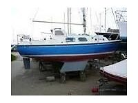 westerly kendall 24 foot yacht
