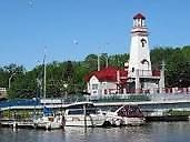 """Come sail away"" and live in beautiful and historic Port Credit…"