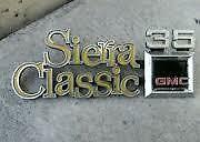 LOOKING FOR 1975 1980 GMC SIERRA CLASSIC 35 EMBLEMS 75 80