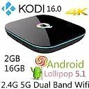 Latest 4k android 5.1 boxes fully loaded with kodi and add-ons.