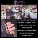 Technicienne en pose d'ongles