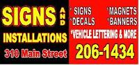 Advertise your services!
