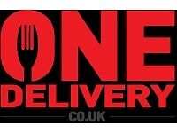 Fast Food Delivery Driver - immediate start - £6/h + £1 per delivery + tips