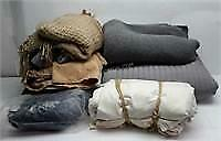 Lot of Assorted Blankets and Sheets