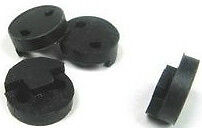 1-VIOLIN-MUTE-BLACK-RUBBER-CIRCLE-STYLE-GREAT-PRACTICE-AID-UK-SELLER