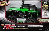 New RC jeep in box