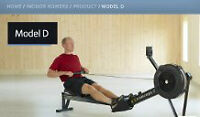 Rowing machine Concept 2 model D-barely used, 6mn old