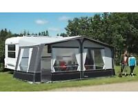 caravan awning errected once to 'proof' it NOW on SALE with NO POLES reason explained on enquiry