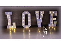 4ft wedding love lights