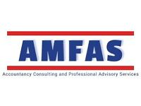 Professional financial advice and accounting services AMFAS