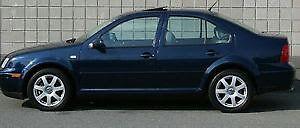 2002 Volkswagen Jetta Navy blue Sedan