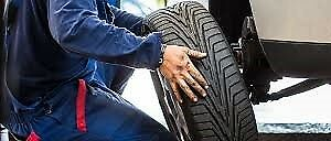 Mobile Tire changing service $60 All 4 tires