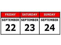 ***September Weekend Special!***