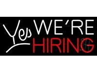 Boilermaker is looking for Full & Part-time, Bar and Waiting staff.