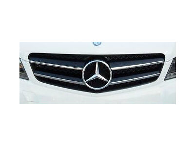 Mercedes-Benz C-Class W204 Coupe Genuine Front Hood Grille C250 C350  NEW Black