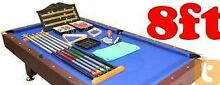 POOL TABLE 8x4 Pool Table with FREE accessories Sumner Brisbane South West Preview