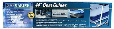 REESE Towpower Marine Boat Trailer Guides Bolt-On Marine Grade PVC 44 In 7015400