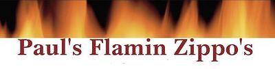 Paul's Flamin Zippo's