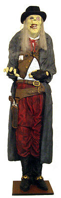 Halloween Scary Events (OLD DEADEYE GUNSLINGER - SCARY HALLOWEEN PROP - STATUE DECORATION EVENTS)
