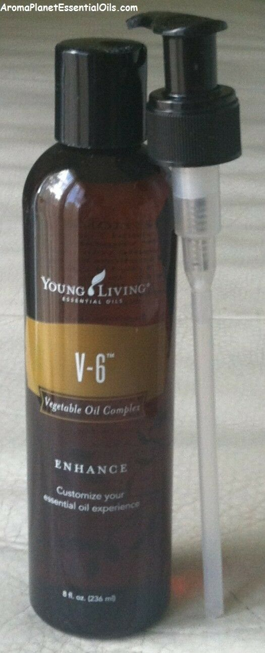 Young Living Essential Oils - V-6 Enhanced Vegetable Oil 8 o