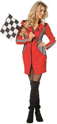 Racer Girl Boxenluder Kostüm Deluxe NEU - Damen Karneval Fasching Verkleidung Ko