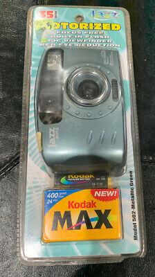 JAZZ 502 Point And Shoot Film Camera 35mm W/Flash
