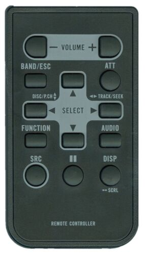 Ghyrex New Remote Qxa-3303 For Pioneer Car Stereo Deh1300mp