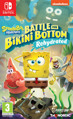 Spongebob SquarePants: Battle for Bikini Bottom - Rehydrated (Switch) PRE-ORDER