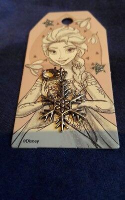 Charm Anhänger geschenk Schneeflocke Glücksbringer Armband Schulanfang elsa