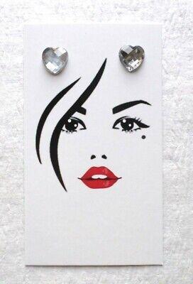 100 Boutique Card Earring Displays Earring Holders Cute Girl Basket Earring Card
