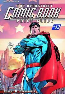 OVERSTREET 2013 2014 COMIC BOOK PRICE GUIDE VOL 43 SC Andy Kubert Superman Cover